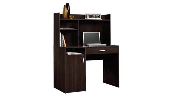 Compact Desks Sauder Desk with Hutch