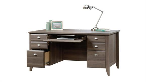Executive Desks Sauder Executive Double Pedestal Desk