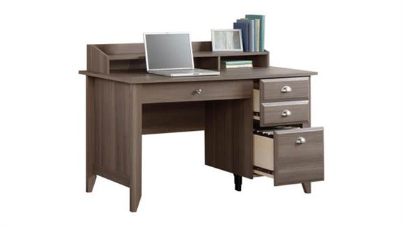 Computer Desks Sauder Computer Desk with Organizer Hutch