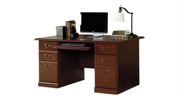 "Compact Desks Sauder 60"" Executive Desk"