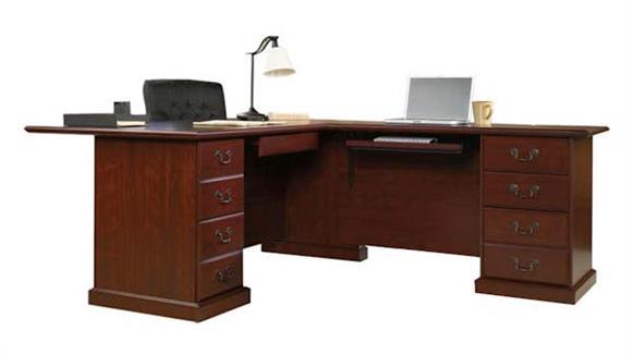 L Shaped Desks Sauder L Shaped Desk