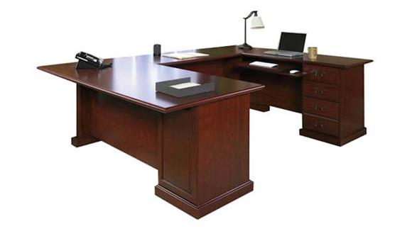 U Shaped Desks Sauder U Shaped Desk