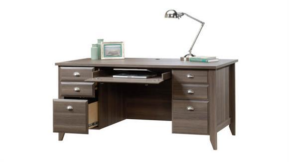 Executive Desks Sauder Executive Double Pedestal Desk