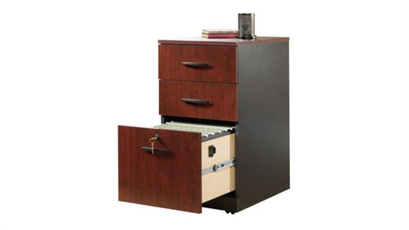 Mobile File Cabinets Sauder 3 Drawer Pedestal