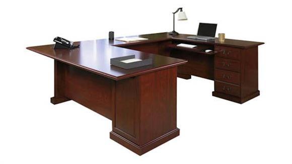 U Shaped Desks Sauder U Shaped Desk