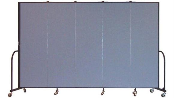 "Office Panels & Partitions Screenflex 80""H  Five Panel Portable Room Divider"
