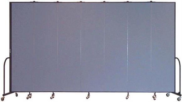 "Office Panels & Partitions Screenflex 88""H  Seven Panel Portable Room Divider"