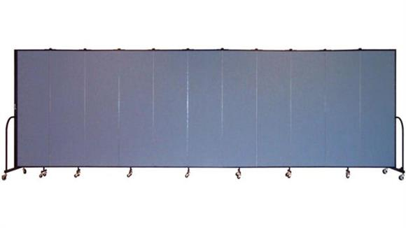 "Office Panels & Partitions Screenflex 80""H  Eleven Panel Portable Room Divider"