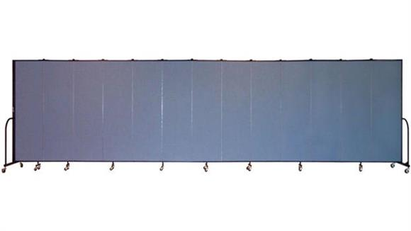 "Office Panels & Partitions Screenflex 80""H  Thirteen Panel Portable Room Divider"