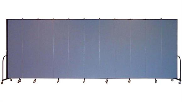 "Office Panels & Partitions Screenflex 88""H  Eleven Panel Portable Room Divider"