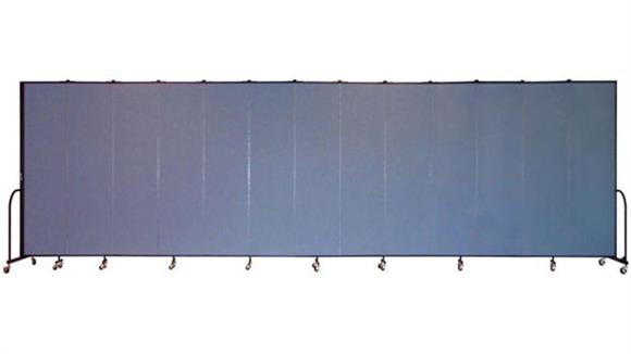 "Office Panels & Partitions Screenflex 88""H  Thirteen Panel Portable Room Divider"