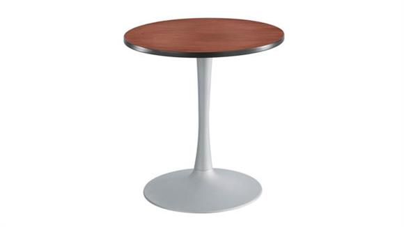 """Cafeteria Tables Safco Office Furniture 30"""" Round, Trumpet Base, Sitting Height Table"""