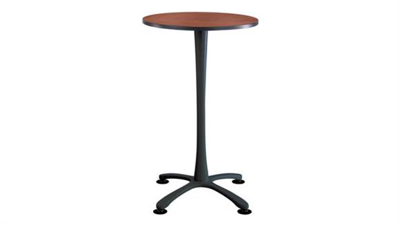 "Pub & Bistro Tables Safco Office Furniture 30"" Round,  X Base Bistro-Height"