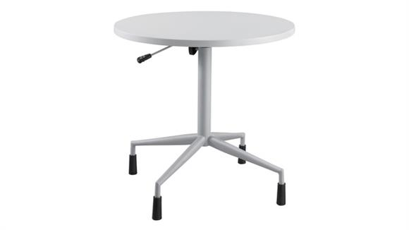 """Cafeteria Tables Safco Office Furniture RSVP™ 30"""" Round Table with Pneumatic Base"""