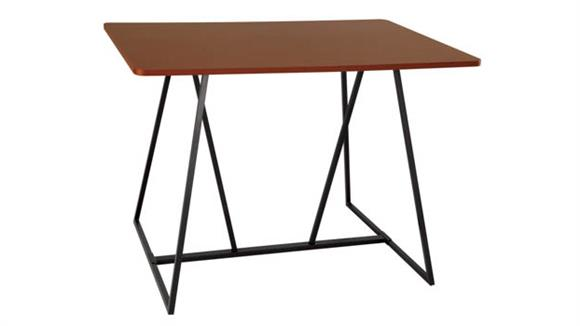 "Training Tables Safco Office Furniture Oasis 60"" Standing-Height Teaming Table"