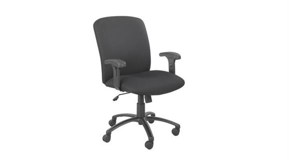 Big & Tall Safco Office Furniture Big and Tall High Back Chair with Arms