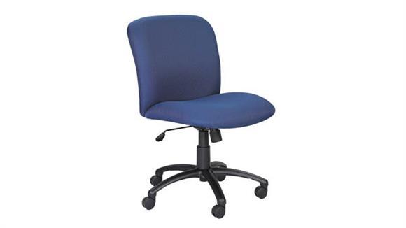 Big & Tall Safco Office Furniture Big and Tall Mid Back Task Chair