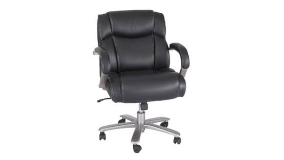 Big & Tall Safco Office Furniture Lineage™ Big & Tall Mid Back Task Chair