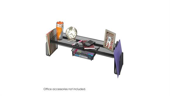 Desk Organizers Safco Office Furniture Onyx™ Mesh Off-Surface Shelf