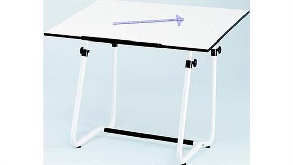 "Drafting Tables Safco Office Furniture Drafting Table, 47 ½"" x 35 ½"" with Vista Base"