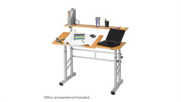 Drafting Tables Safco Office Furniture Height-Adjustable Split Level Drafting Table