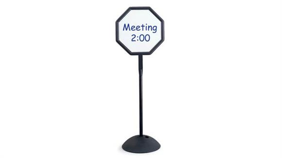 White Boards & Marker Boards Safco Office Furniture Write Way® Octagon Sign