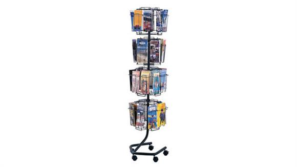 Magazine & Literature Storage Safco Office Furniture Wire Brochure Display Rack