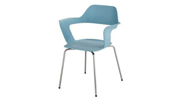 Stacking Chairs Safco Office Furniture Bandi™ Shell Stack Chair (Qty. 2)