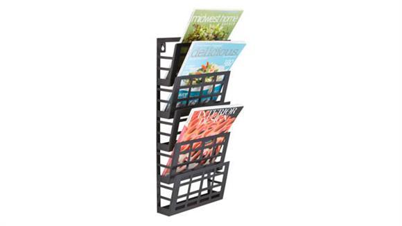 Magazine & Literature Storage Safco Office Furniture Grid Magazine Rack 5 Pocket