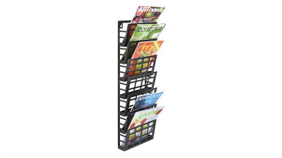 Magazine & Literature Storage Safco Office Furniture Grid Magazine Rack 7 Pocket