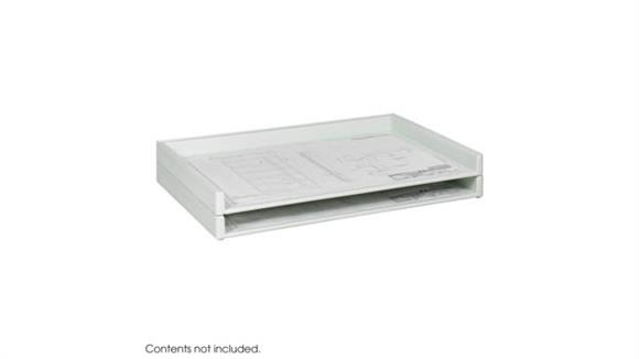 """Desk Organizers Safco Office Furniture Giant Stack Tray for 24"""" x 36"""" Documents (Qty. 2)"""