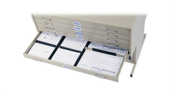Flat File Cabinets Safco Office Furniture Drawer Dividers for Flat Files