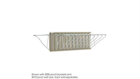Magazine & Literature Storage Safco Office Furniture Pivot Wall Rack