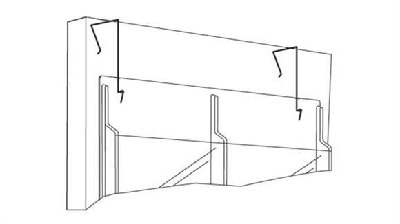 Magazine & Literature Storage Safco Office Furniture Display Wire Hanger (Set of 2)