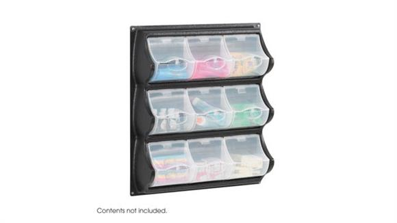 Storage Cubes & Cubbies Safco Office Furniture 9 Pocket Panel Bins