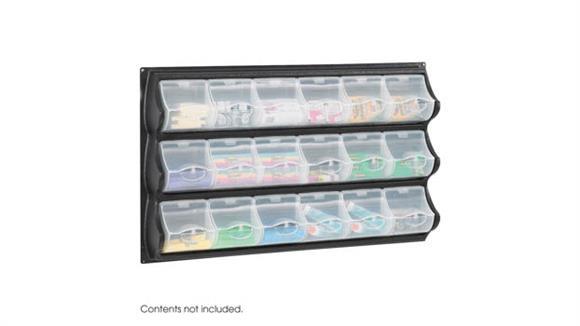 Storage Cubes & Cubbies Safco Office Furniture 18 Pocket Panel Bins