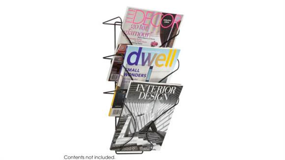 Magazine & Literature Storage Safco Office Furniture Wire Wall Display 3 Pocket