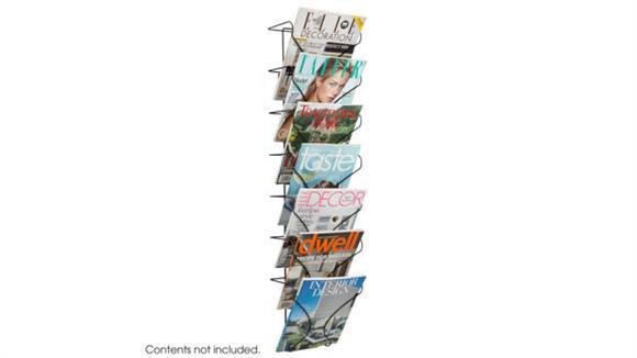 Magazine & Literature Storage Safco Office Furniture Wire Wall Display 7 Pocket
