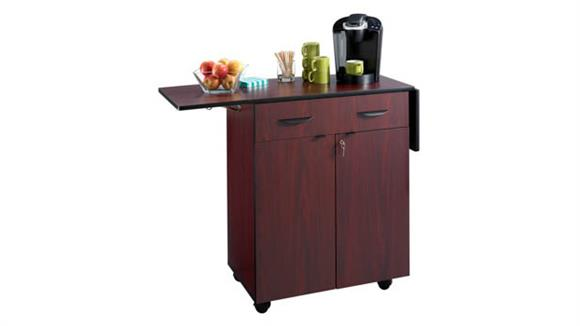 Hospitality Carts Safco Office Furniture Mobile Hospitality Service Cart