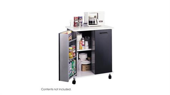 Hospitality Carts Safco Office Furniture Mobile Refreshment Stand