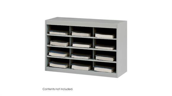 Magazine & Literature Storage Safco Office Furniture Steel 12 Compartment Project Organizer