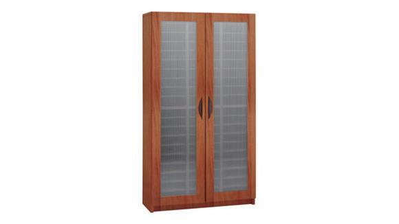 Magazine & Literature Storage Safco Office Furniture 60 Compartment Literature Organizer with Doors