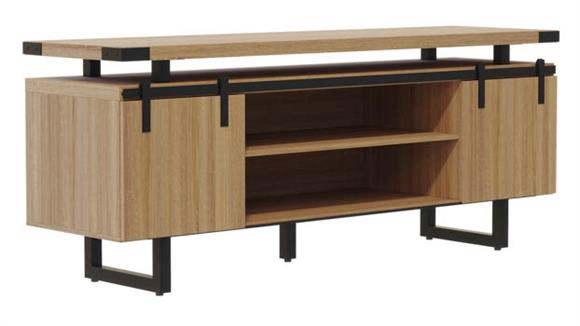 Storage Cabinets Safco Office Furniture Low Wall Cabinet Wood Doors