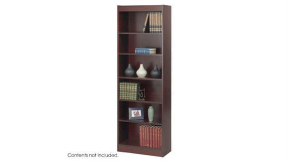 "Bookcases Safco Office Furniture 6-Shelf Veneer Baby Bookcase, 24""W"