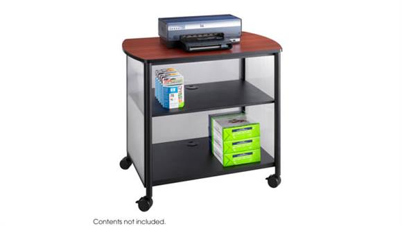 Storage Cabinets Safco Office Furniture Deluxe Mobile Machine Stand