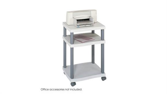 Utility Carts Safco Office Furniture Wave Deskside Printer Stand