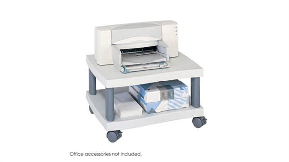 Utility Carts Safco Office Furniture Wave Under Desk Printer Stand