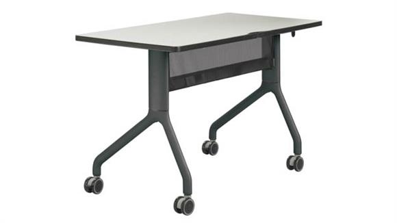 """Training Tables Safco Office Furniture 48"""" x 24"""" Rectangle Table"""