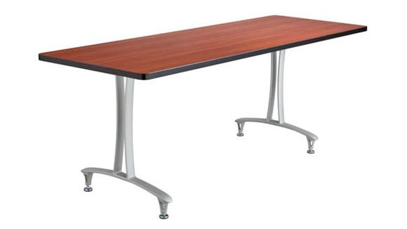 "Training Tables Safco Office Furniture 72"" x 24"" Mobile Table with Glides"