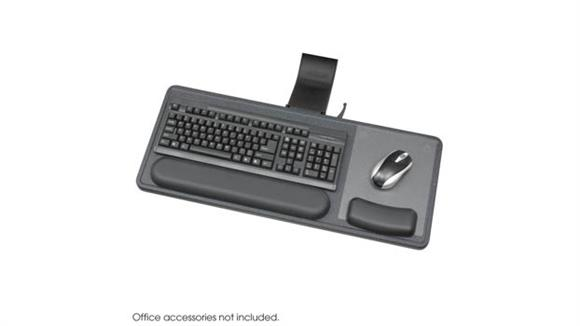 Keyboard Trays Safco Office Furniture Ergo-Comfort® Sit/Stand Articulating Keyboard/Mouse Arm